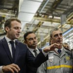 Emmanuel Macron renault